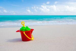bucket-and-toys-on-beach